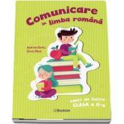 Comunicare in limba romana, caiet de lucru pentru clasa a II-a (Andreea Barbu)