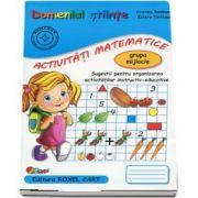 Domeniul stiinte, activitati matematice. Caiet pentru gradinita, grupa mijlocie - Sugestii pentru organizarea activitatilor instructiv-educative