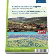 Harta Transilvania de Sud - Tara Bisericilor Fortificate