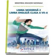 Limba moderna 2, Limba Engleza. Manual pentru clasa a VII-a (Catrin E Morris)