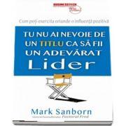 Mark Sanborn - Nu ai nevoie de un titlu ca sa fii un adevarat lider