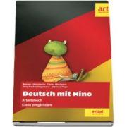 Deutsch mit Nino. Arbeitsbuch, clasa pregatitoare - Mariana Franculescu