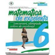 Matematica de excelenta pentru concursuri, olimpiade si centre de excelenta, pentru clasa a VI-a