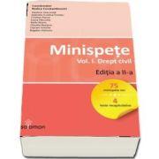 Minispete. Drept civil, volumul I. Editia a II-a (Vladimir Diaconita)
