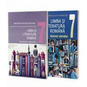 Limba si literatura romana, pentru clasa a VII-a - Manual si caiet (set 2 carti)