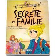 Secrete de familie cu ilustratii de Carlos Navarro