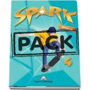 Spark 4. Workbook with Digibook app de Virginia Evans