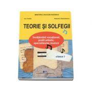 Teorie si solfegii, manual pentru clasa I