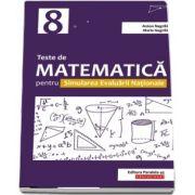 Teste de matematica pentru Simularea Evaluarii Nationale la clasa a VIII-a - Avizat M. E. N.