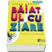 Vince Vawter, Baiatul cu ziare. Editie bilingva engleza-romana