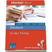 Berufssprachfuhrer. Deutsch in der Firma. Griechisch, Spanisch, Polnisch, Rumanisch. Buch mit MP3 Download