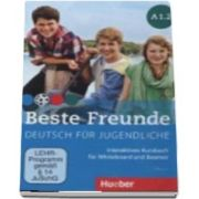 Beste Freunde. Interaktives Kursbuch A1. 2 fur Whiteboard und Beamer DVD Rom