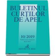 Buletinul Curtilor de Apel nr. 10/2019