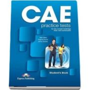 CAE Practice Tests. Students book with Digibook App