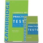 Cambridge PET Practice Test BK. Pack