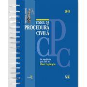 Codul de procedura civila 2019 - Editie cu spirala, tiparita pe hartie alba, coperta cartonata