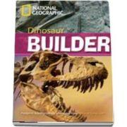 Dinosaur Builder. Footprint Reading Library 2600. Book with Multi ROM