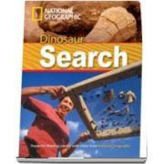 Dinosaur Search. Footprint Reading Library 1000. Book with Multi ROM