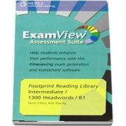 Footprint Reading Library Level 1300. Assessment CD ROM with ExamView