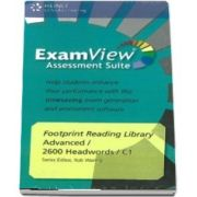 Footprint Reading Library Level 2600. Assessment CD ROM with ExamView