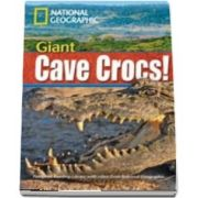 Giant Cave Crocs! Footprint Reading Library 1900. Book with Multi ROM