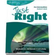 Just Right Pre intermediate. Students Book