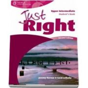 Just Right Upper Intermediate. Students Book