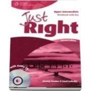 Just Right Upper Intermediate. Workbook with Key and Audio CD