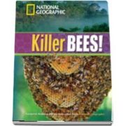 Killer Bees! Footprint Reading Library 1300. Book with Multi ROM