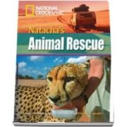 Natachas Animal Rescue. Footprint Reading Library 3000. Book with Multi ROM