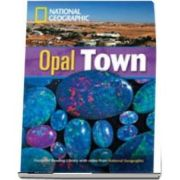Opal Town. Footprint Reading Library 1900. Book with Multi ROM