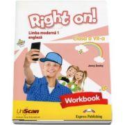 Right on! Limba moderna 1 - caiet de engleza, pentru clasa a VII-a, Workbook