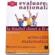 Matematica. Evaluarea nationala la finalul clasei a II-a, scris-citit de Manuela Dinescu