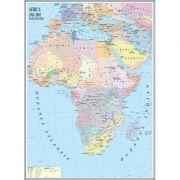 Africa. Harta politica 1000x1400 mm