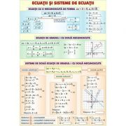 Ecuatii si sisteme cu o necunoscuta. Elemente de trigonometrie. Planse