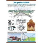 Perspectiva liniara - Game cromatice. Plansa murala