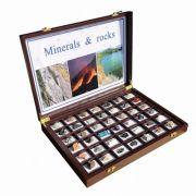 Trusa scolara. Roci si minerale, 42 specimene
