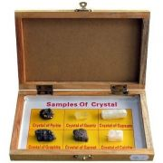 Trusa Scolara . Cristale minerale, 6 specii
