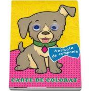 Animale de companie. Carte de colorat