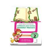 Calatorie prin lumea textelor literare, pentru clasa a II-a. Semestrul I - Din manualul de limba romana (Ordinea continuturilor corespunde manualului avizat M. E. N., varianta A)