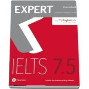 Expert IELTS 7. 5 Coursebook with Online Audio and MyEnglishLab Pin Pack