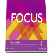 Focus BrE 5 Class CDs