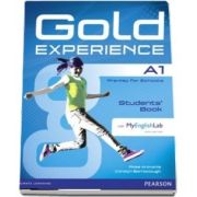 Gold Experience A1 Students Book with DVD-ROM and MyLab Pack