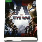 Level 3: Marvels Captain America: Civil War Book & MP3 Pack