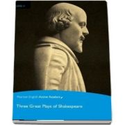 Level 4: Three Great Plays of Shakespeare Book & Multi-ROM with MP3 Pack