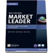 Market Leader 3rd Edition Upper Intermediate Coursebook with DVD ROM and MyLab Access Code Pack