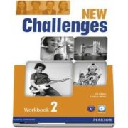 New Challenges 2 Workbook & Audio CD Pack