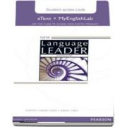 New Language Leader Advanced eText Access Card with MyEnglishLab Pack
