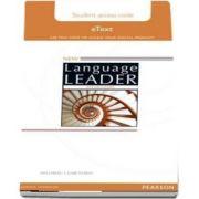 New Language Leader Elementary Teachers Etext Access Card