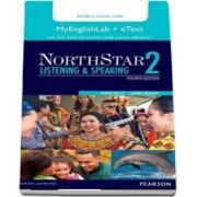 NorthStar Listening and Speaking 2 eText with MyLab English